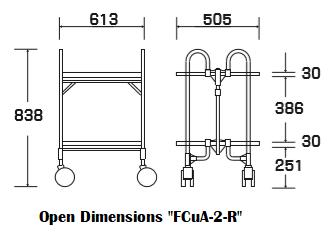"""Open dimensions """"FCuA-2-R"""""""