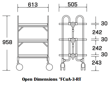 "Open Dimensions ""FCuA-3-RT"""