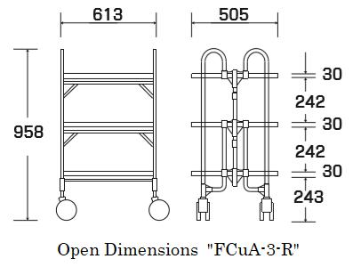 """Open dimensions """"FCuA-3-R"""""""