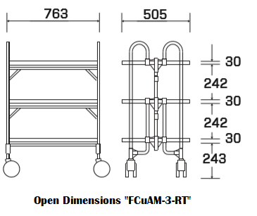 "Open Dimensions ""FCuAM-3-RT"""
