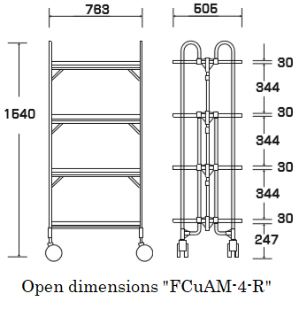 "Open dimensions ""FCuAM-4-R"""