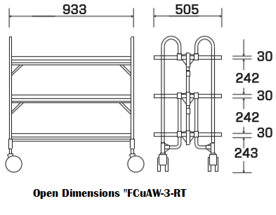 FCuaW-3-RT Dimensions